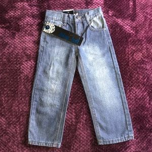 Blue  Tab Blue Jeans